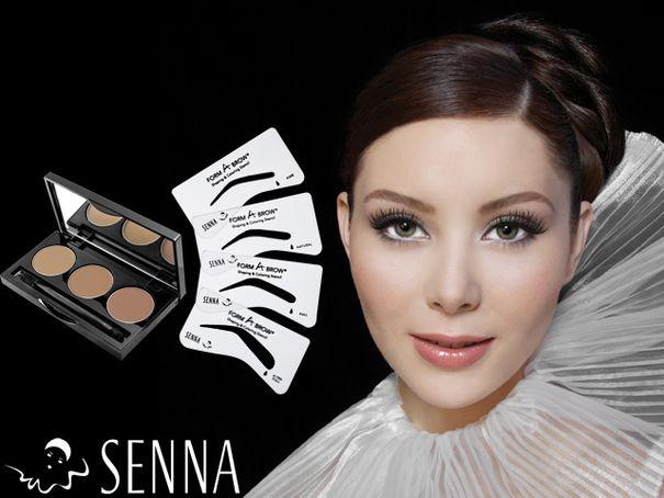 Wyczaruj perfekcyjne brwi z Senna Cosmetics