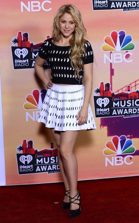 Shakira zachwyca szczupłą sylwetką po drugiej ciąży