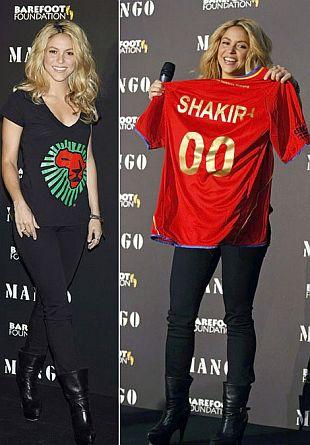Shakira projektuje dla Mango