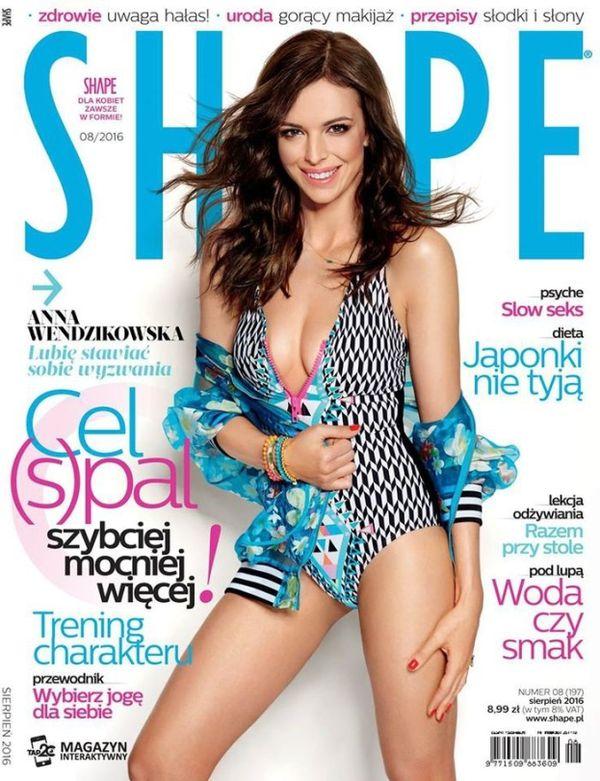 Anna Wendzikowska zachwyca figurą w magazynie Shape (FOTO)