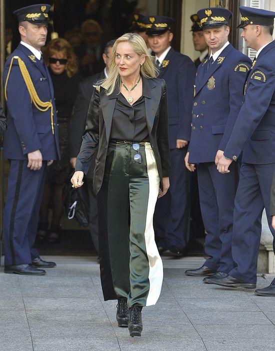 Sharon Stone w sukience marki Bizuu (FOTO)