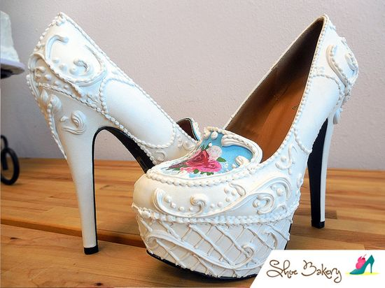 Słodkie projekty butów od Shoe Bakery (FOTO)