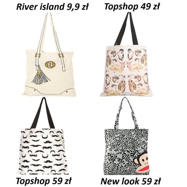 Przegląd shopper bags (FOTO)
