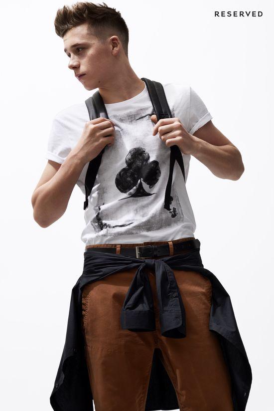 Brooklyn Beckham dla Reserved Young Fashion (FOTO)