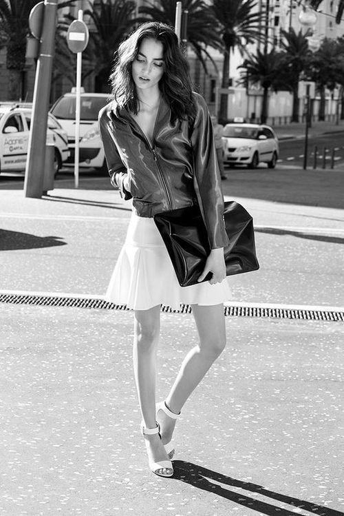 Zuzanna Bijoch gwiazdą  kampanii Simple CP wiosna-lato 2014