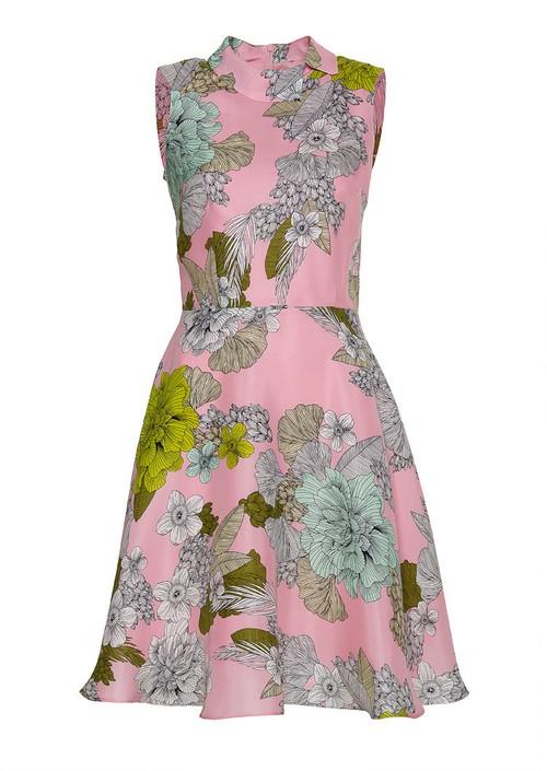 Sukienki z nadrukami - wiosna 2014