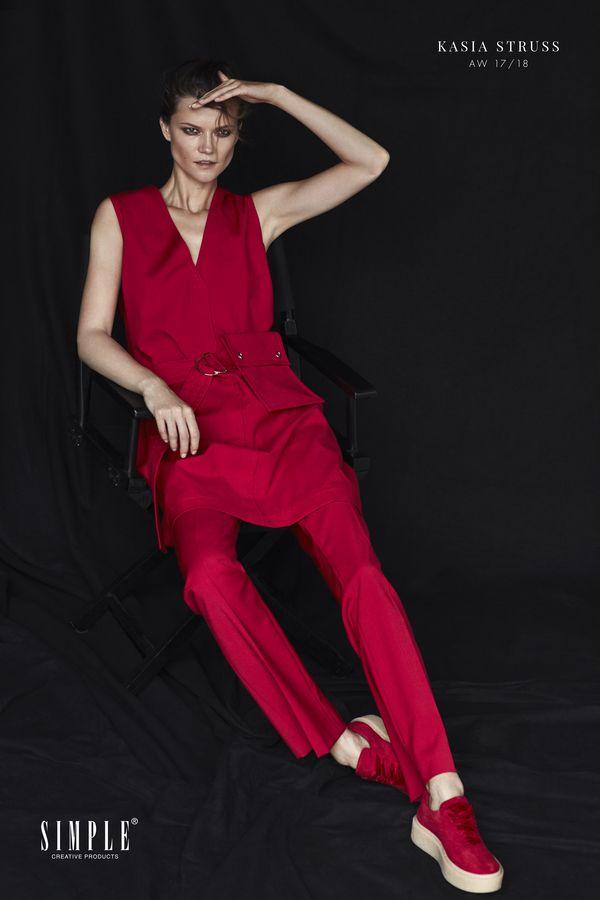 Piękna Kasia Struss w jesienno-zimowej kampanii Simple CP (FOTO)