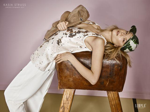 Zachwycająca Kasia Struss w najnowszej kampanii marki Simple (FOTO)