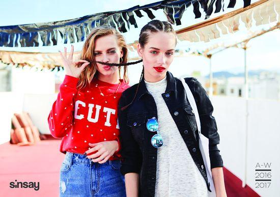 Karolina Pisarek w najnowszej kampanii marki SiNSAY (FOTO)