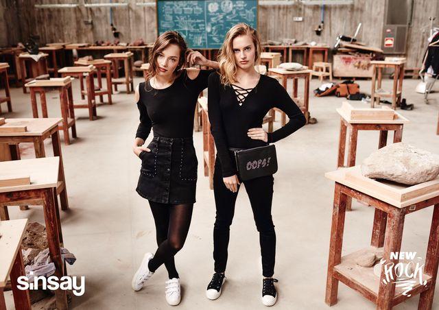 Powrót do szkoły z Sinsay - zobaczcie lookbook New Rock!