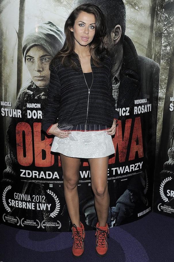 Gwiazdy na premierze filmu Obława