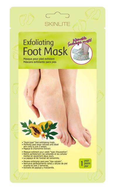 Skarpetki złuszczające + maska  = piękne, zadbane stopy!