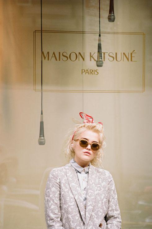 Sky Ferreira po skandalu wraca kampanią dla Maison Kitsune