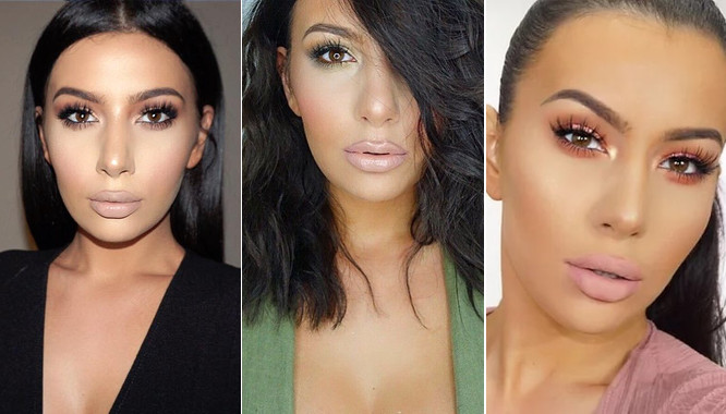 Coś się stało z twarzą Kim Kardashian? (FOTO)