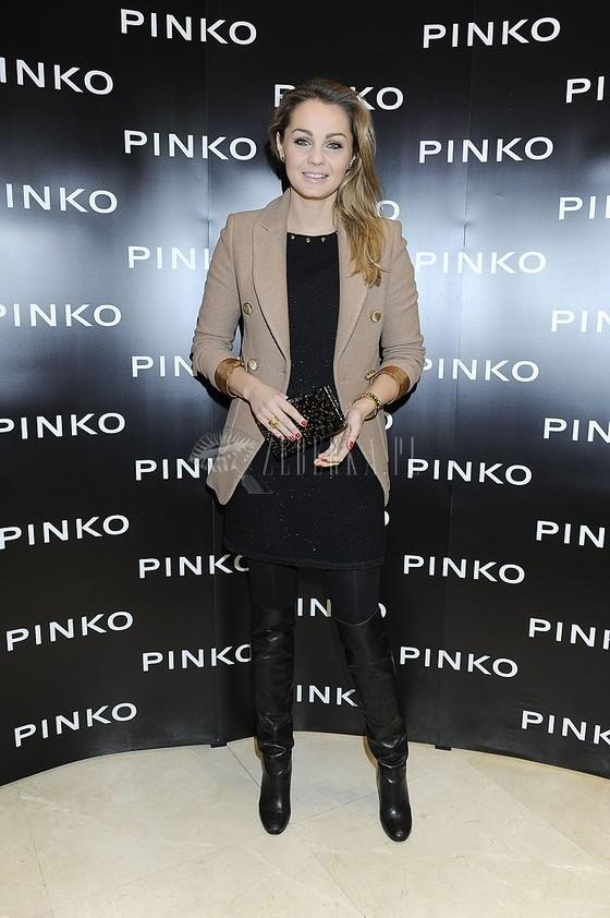 Małgorzata Socha na prezentacji nowej kolekcji Pinko