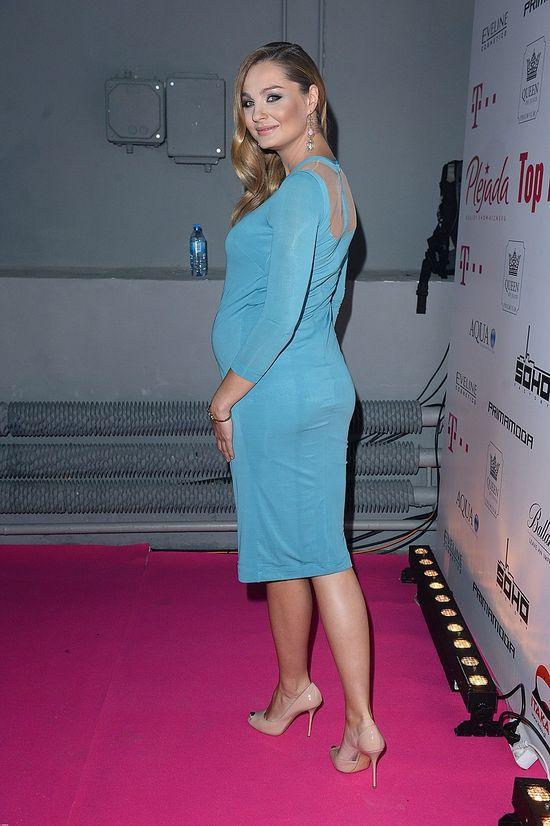 Ciążowa stylizacja Małgorzaty Sochy na TOP 10