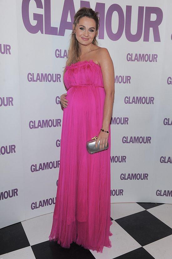 Małgosia Socha w różu na gali Kobiety Dekady Glamour