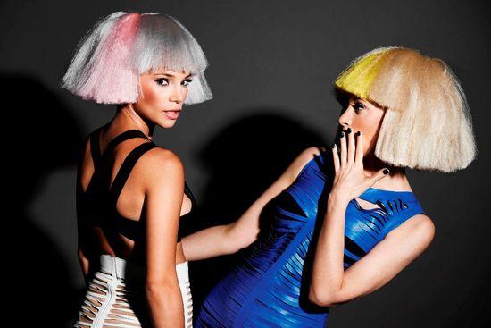 Ada Fijał i Maja Bohosiewicz prezentują fryzury przyszłości