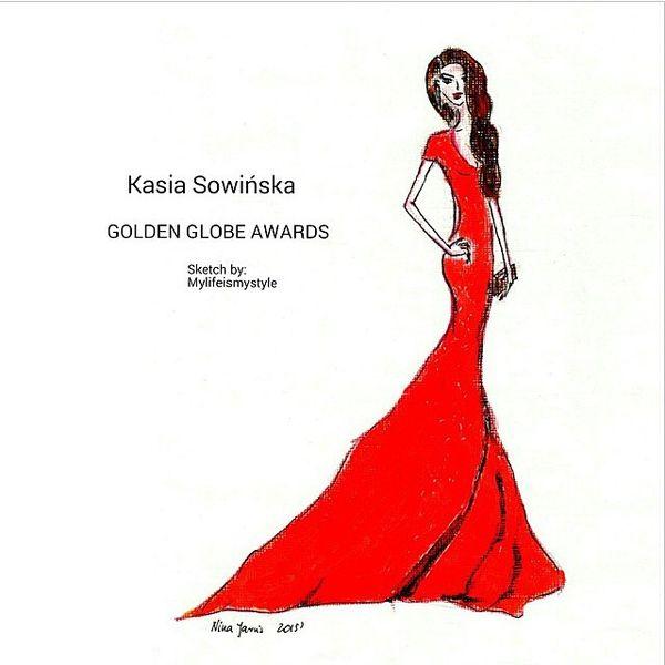 Ta piękna kreacja ze Złotych Globów należy do Polki! (FOTO)