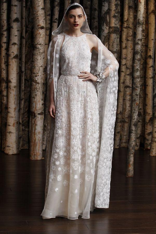 Suknie ślubne - Naeem Khal - Bridal Spring 2015 (FOTO)