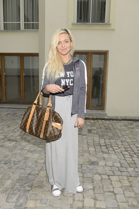Agnieszka Kaczorowska i Candy Girl w dresowych spódnicach