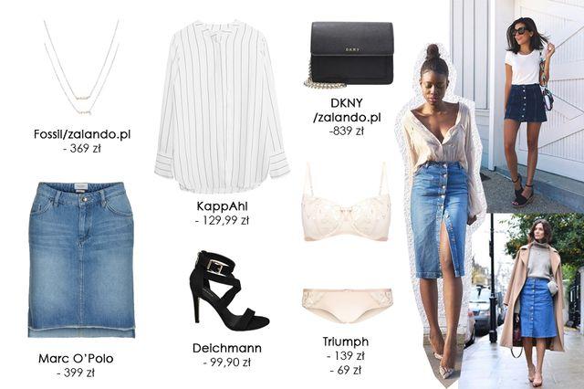 Pomysł na stylizacje: Spódniczka jeansowa na dwa sposoby (FOTO)