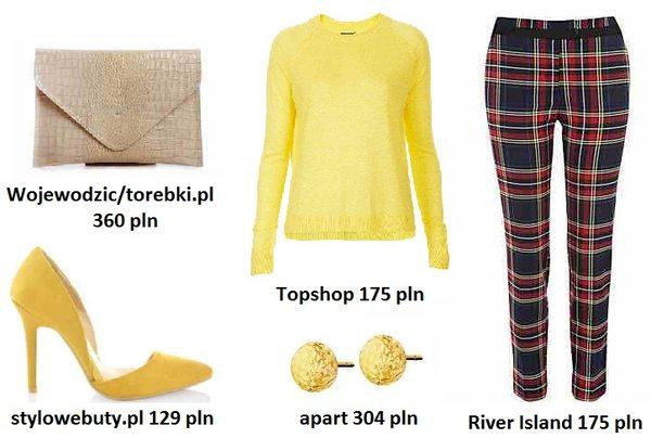 Jesienny must have - spodnie w kratę