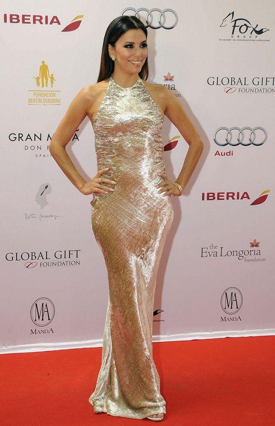 Złota Eva Longoria w Reem Acra (FOTO)