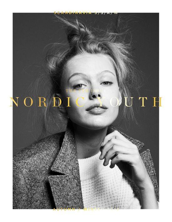 Frida Gustavsson na 5 tysiącach okładek Scandinavia
