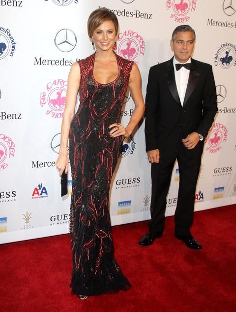 Stacy Keibler w sukni Monique Lhuillier (FOTO)