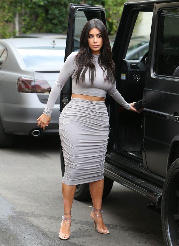 Uwaga, uwaga! Kim Kardashian wróciła do formy sprzed ciąży?