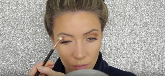 Makijaż na Sylwestra idealny dla blondynek (VIDEO)