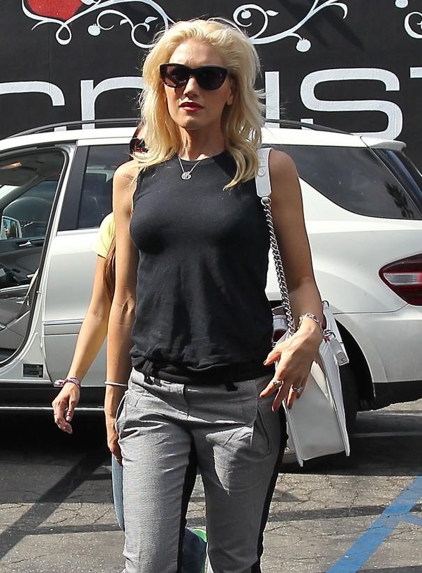 Gwen Stefani w codziennej stylizacji
