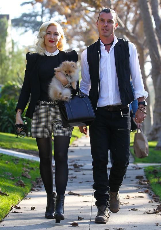Gwen Stefani w eleganckiej stylizacji