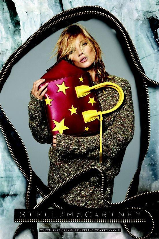 Kate Moss w świetnej kampanii Stella McCartney (FOTO)