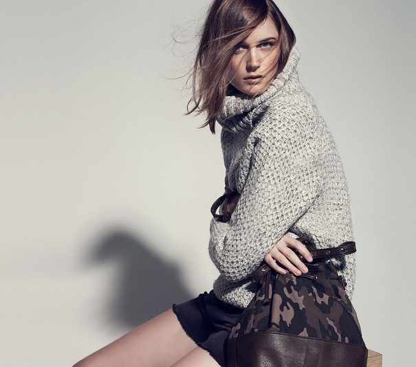 Stradivarius lookbook jesień 2012