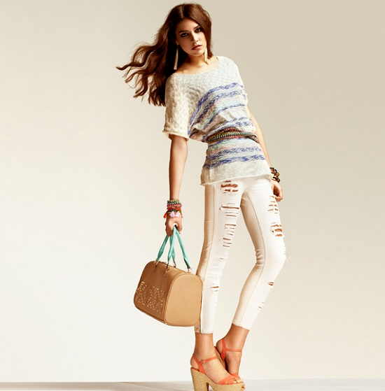 Stradivarius lookbook marzec 2013