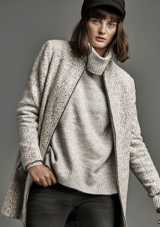 Stradivarius The Coat Issue - Modne młodzieżowe płaszcze w kilku stylach na zimę