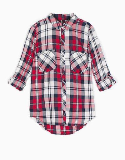 Hit na jesień z sieciówek - Modna koszula flanelowa w kratę