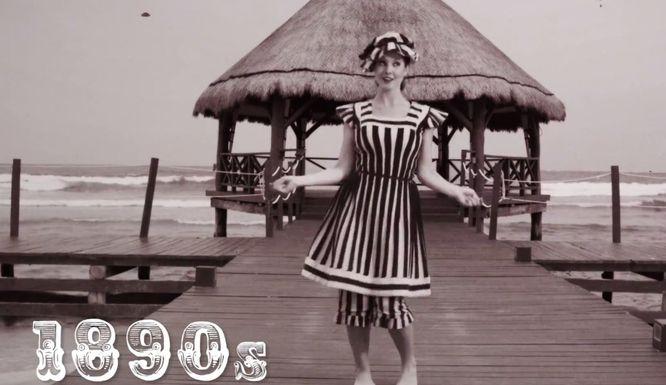 Tak zmieniały się stroje kąpielowe przez ponad 100 lat