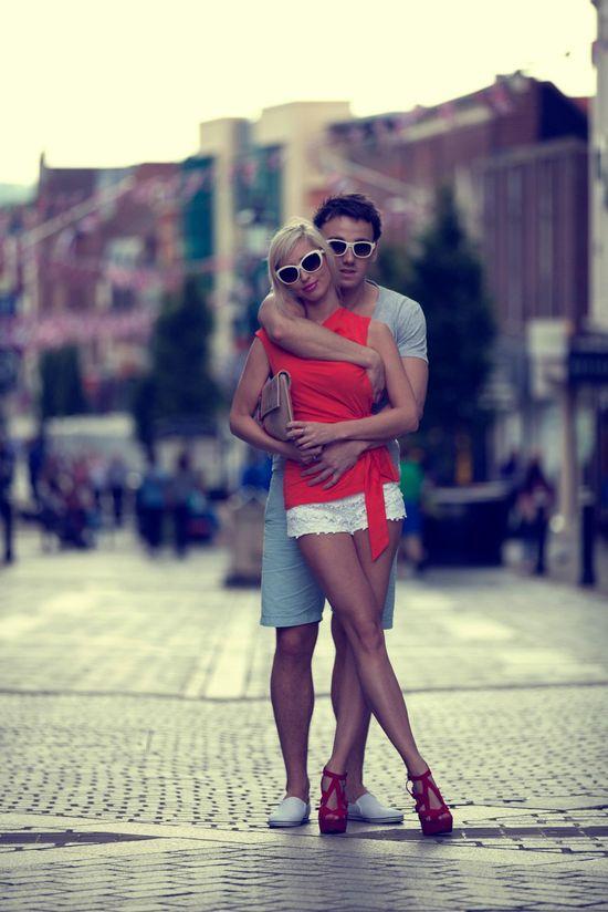 Stylizacje par: Paulina z Mężem