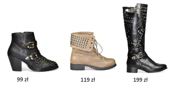 Buty z ćwiekami dla odważnych