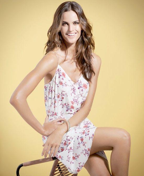Izabel Goulart  w wiosennej kampanii SuiteBlanco Tropico