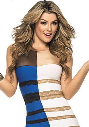 jaki kolor ma ta sukienka