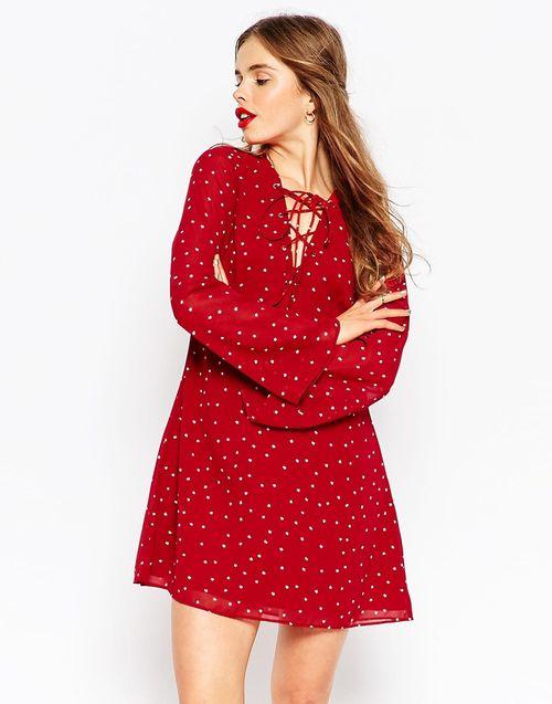 Sukienki mini idealne na jesień - przeląd sieciówek (FOTO)