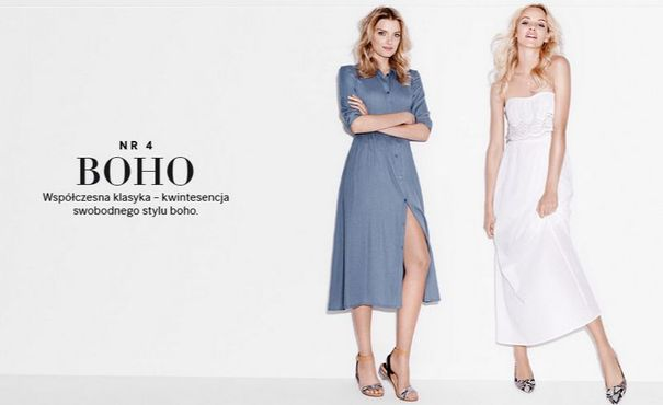 H&M - sukienka w pięciu odsłonach (FOTO)