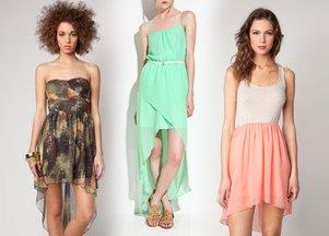Asymetryczne sukienki - przegląd