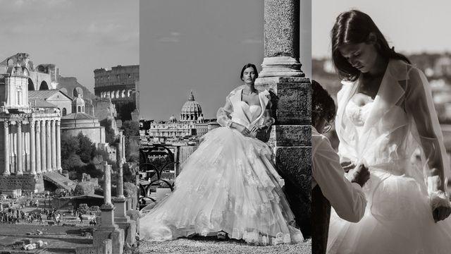 Niesamowite suknie ślubne Alessandro Angelozzi Couture