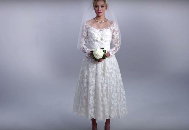 Tak zmieniała się moda na suknie ślubne przez 100 lat