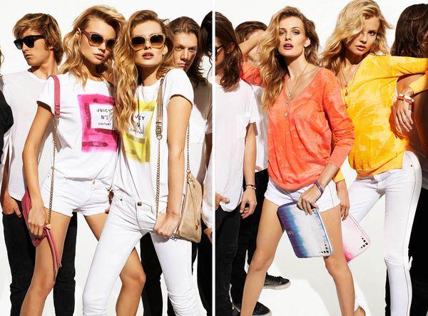 Letni lookbook marki Juicy Couture